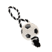 Vary Interactive Rubber Dog Toy Football Baseball For Pet Puppy Teeth Cleaning