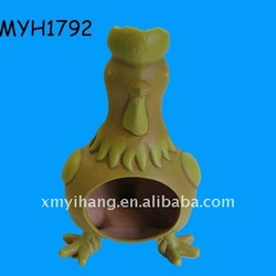 New hot sale terracotta yellow rooster chiminea