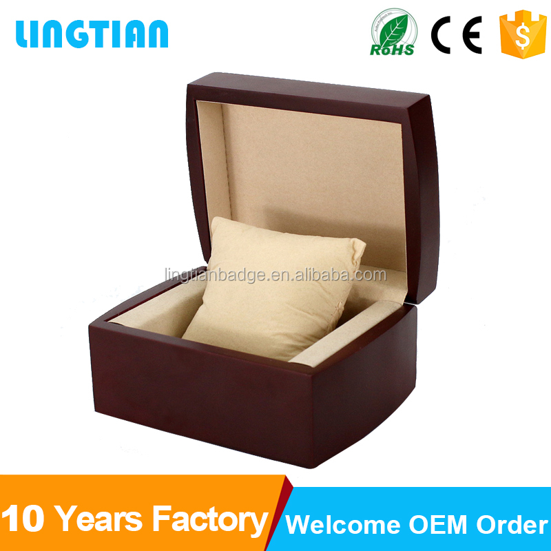 Custom Wholesale Watch Display Box Wood Watch Packaging Box