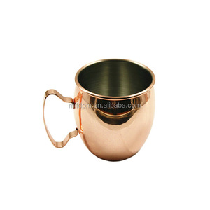 High Quality Moscow Mule Copper Mugs For smirnoff Vodka and Ginger Beer
