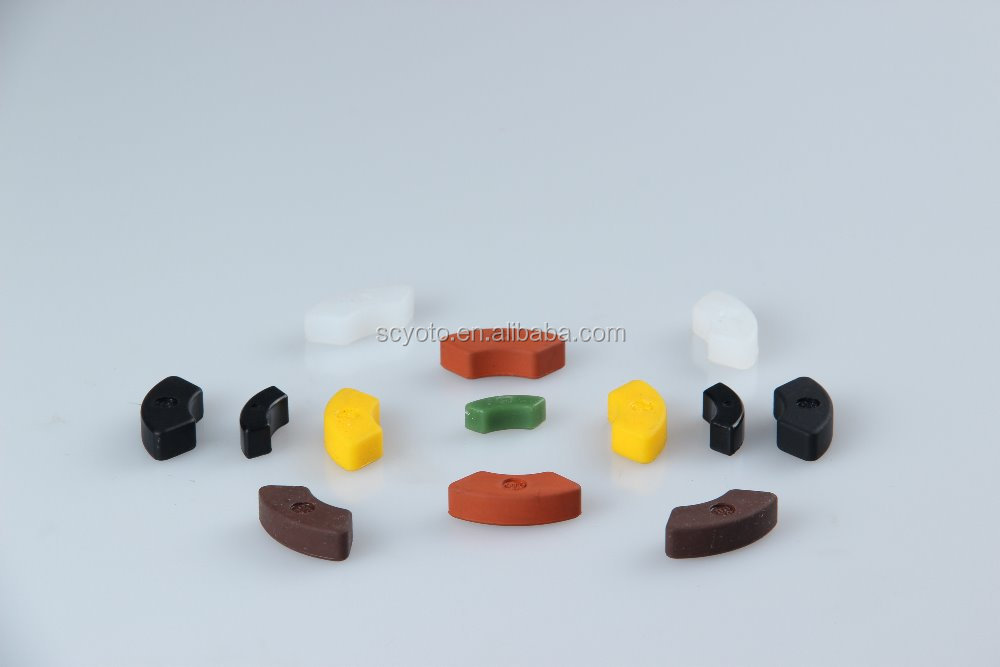 High quality soft rubber nose pads