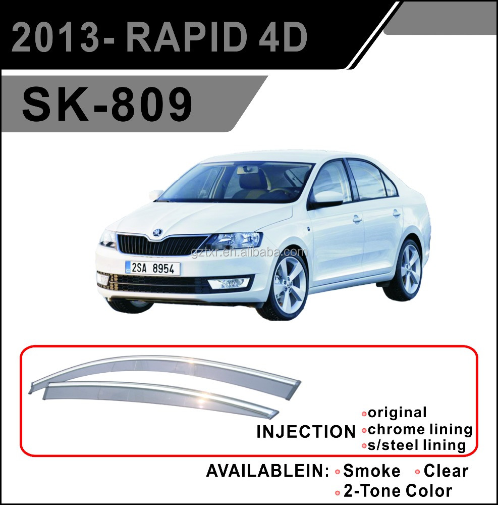Wind Deflector For 2013- RAPID 4D(SK-809)