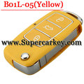 B01L-05 3 Button Remote Key with Yellow colour for URG200/KD900/KD200