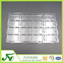 China produce transparent plastic electronic blister box packaging