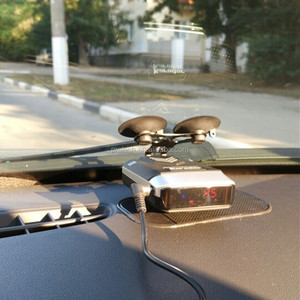 Radar & Laser Detector with GPS Lockout and Red Light / Speed Camera Voice Alerts