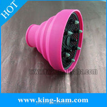 Hot Selling Salon New Folding Silicone Universal Hair Dryer Diffuser hair styling stations