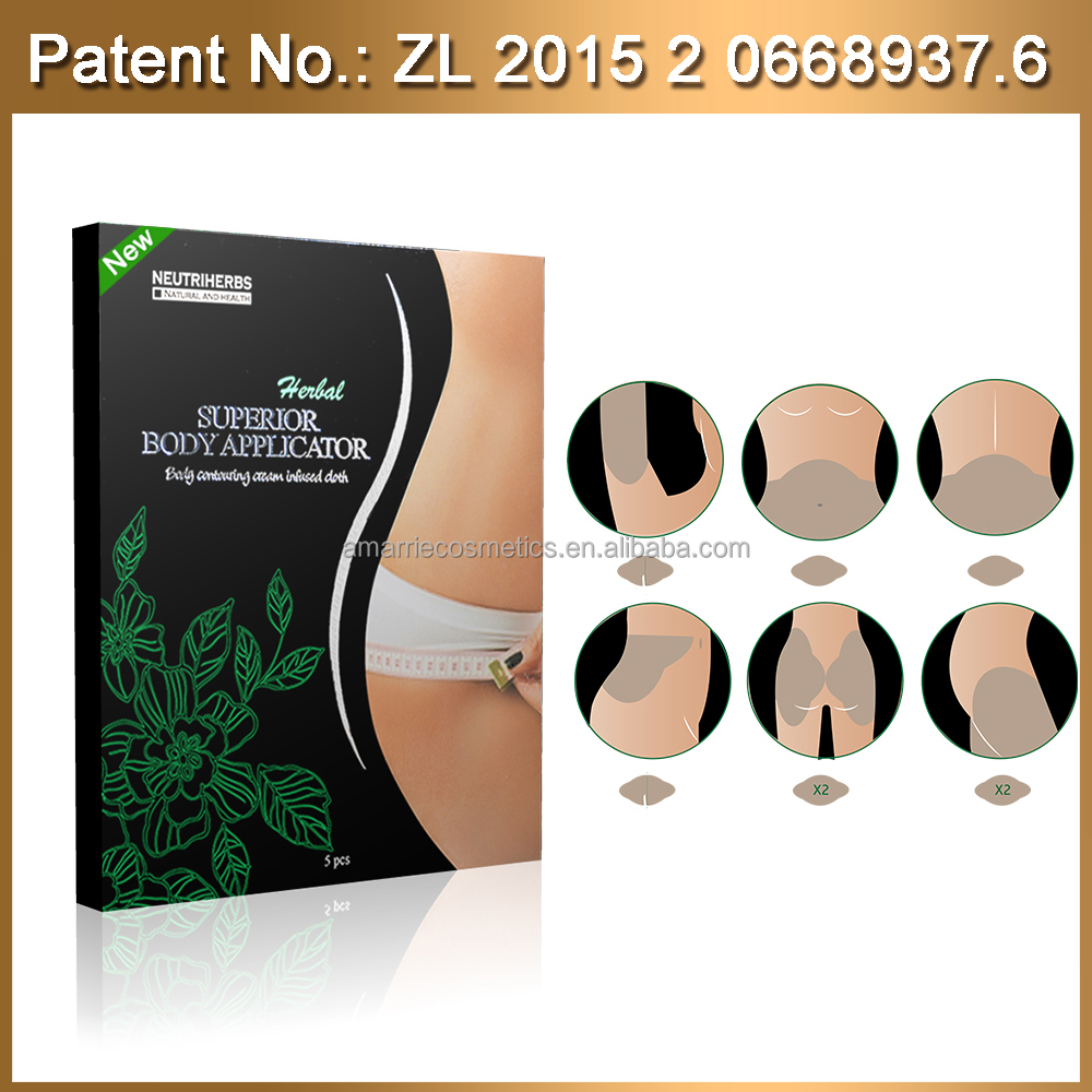 perfect body by using sperior applicator slim fit shirts slimming patches for weight loss