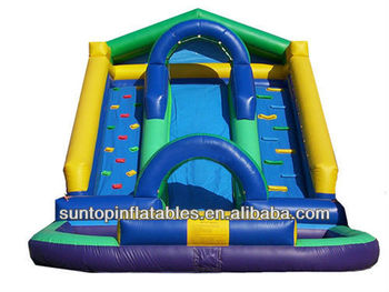 most popular inflatable pool slide many sizes for choice