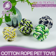 Natural Hot Sell Cotton Rope <strong>Pet</strong> Toys Custom <strong>Pet</strong> Chewing Balls