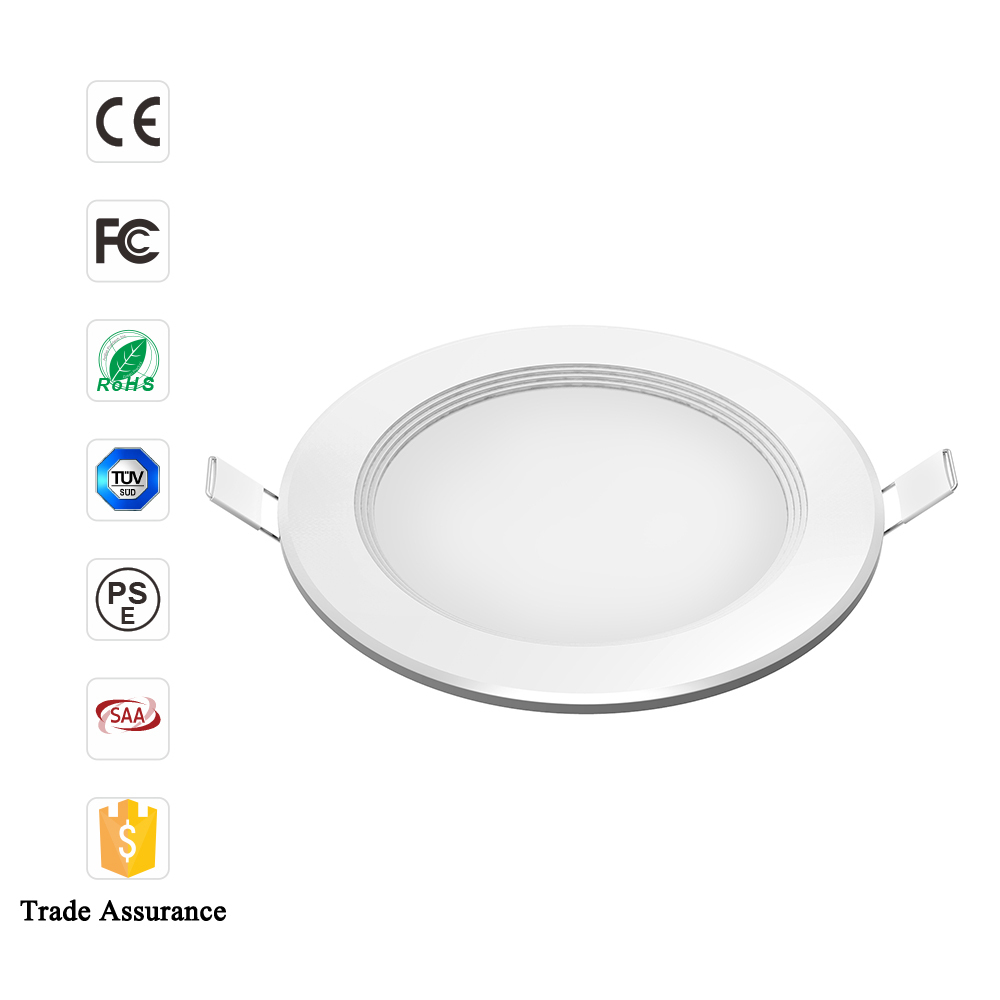 LED recessed downlighting 24w 12w 9w Italy market Hotel lights