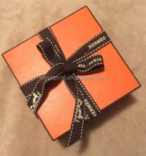 Watch Gift Box With Foam Insert And Ribbon