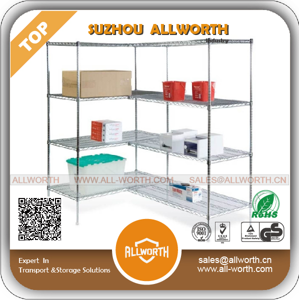 Cake Stand Coldroom Medium Duty Wire Shelf with Post Connector