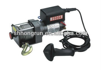 high quality 4wd electric Winch