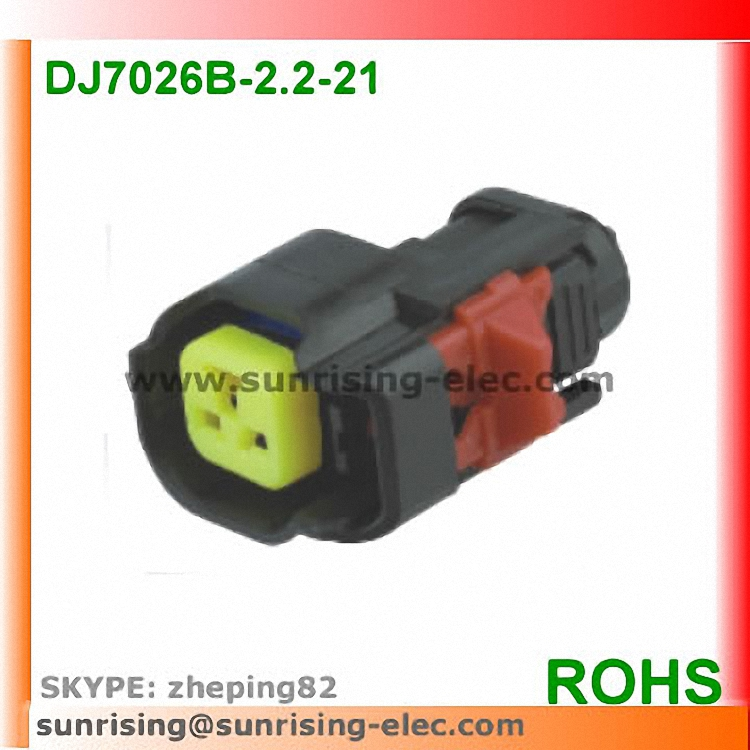 2 Pin Oil <strong>nozzle</strong> /Car Speaker /auto horn waterproof electrical <strong>connector</strong> kits for Ford Chevrolet car etc. DJ7026B-2.2-21