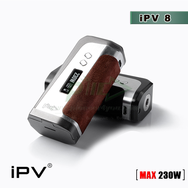 Shenzhen Manufacturer for iPV8 230watt tc box mod with YiHi SX330-f8 chip Pioneer4you iPV8 230w tc box mod ipv 8 wholesale ipv8