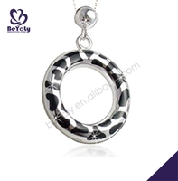Circle shape leisure design for men egyptian style necklace