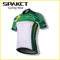 Spakct Men Team custom Short Sleeve Breathable MTB Cycling Jersey