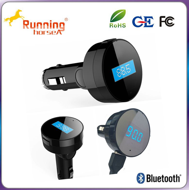 Car kit TF card bluetooth mp3 player with fm transmitter