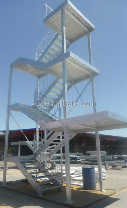 prefabricated steel structure stair(XGZDY-477)
