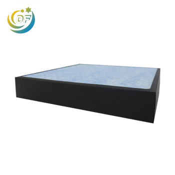 Hepa filter air purifier sheet box mini pleats
