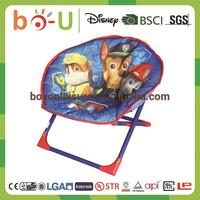 new best selling low price with high quality top level green folding moon chair