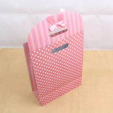 Top grade luxury paper hair bag packaging