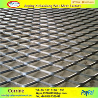 expanded metal sheet, heavy duty expandable sheet metal diamond mesh