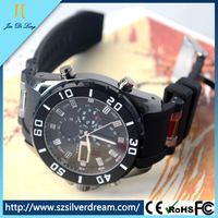 Fashion Army Style Silicone Outdoor Men Sport Usb Bracelet Watch