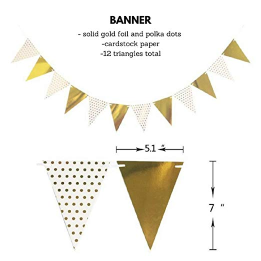 Baby Shower Decorations Strung Banner Confetti Balloons Gold Tassel For Baby Boy And Girl Party Baby Shower Decoration