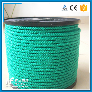 Polypropylene/Polyethylene/Nylon/ Polyester Braided rope