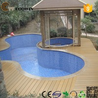 water-proof solid china supplier wpc decking prices