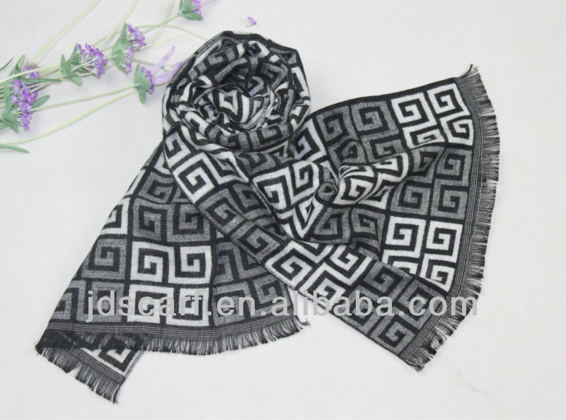 130 g long silk scarf