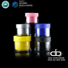 ADA-CP-502 acrylic/recycled plastic cosmetic jar/screw top lids