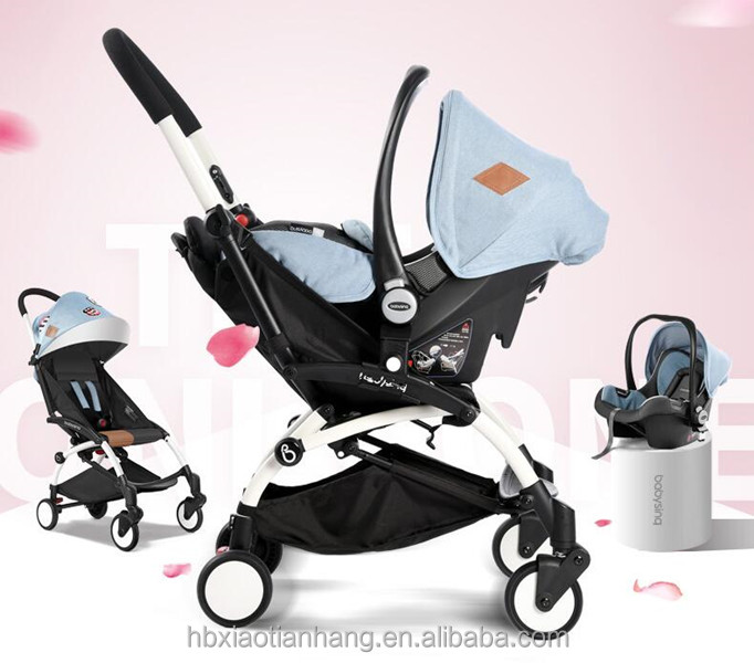 Strong Armrest Pockit Baby Pram Doll Stroller With Baby Car Seat