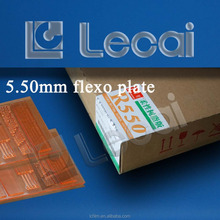 5.5mm Nylon Resin Flexo Printing Plate for Platemaking Machine