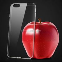 Super thin tpu mobile case for iphone 6s plus case