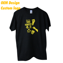 ODM Low MOQ ringspun 3D Print Euro size Hem Tag Black O Collar Unisex Tshirt for couple