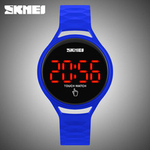 skmei led watch instructions waterproof led touch screen hand watch