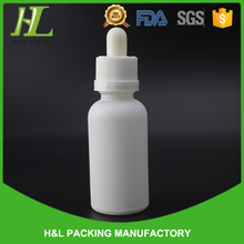 High quality frosted boston round bottles, ejuice bottles 30ml glass frosted