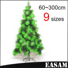 Best selling christmas decoration,foldable pine needle PVC Xmas tree