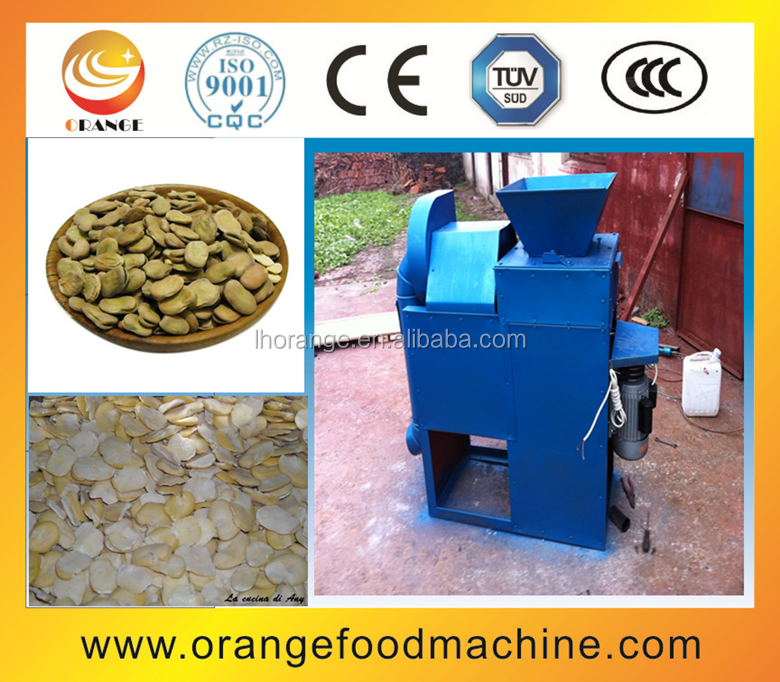 High Quality Broad bean peeler horse bean/soybean/pease/lentils bean peeling machine