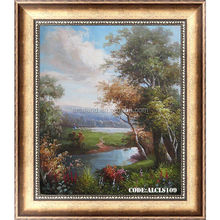 Popular Peaceful oil painting landscape
