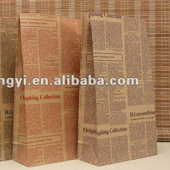 newspaper bags wholesale new products china supplier