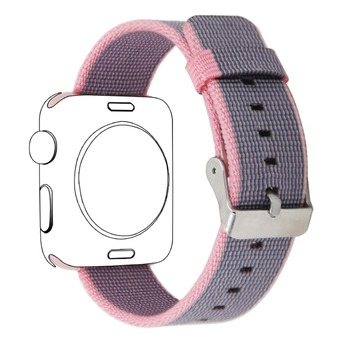 2019 Multi Color Nylon Watchbands Strap for Apple Watch 38mm 40mm 42mm 44mm