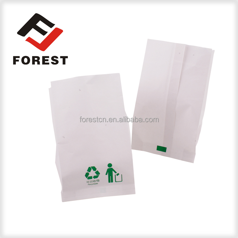 HOT SALE recycled brown kraft paper bags/air sickness bag