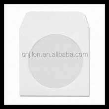 CD DVD White Paper Sleeves with Clear Window 1000 Pack/cd dvd envelope
