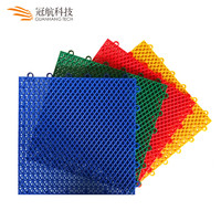 Elastic protection flex outdoor university basketball hall court floor tiles