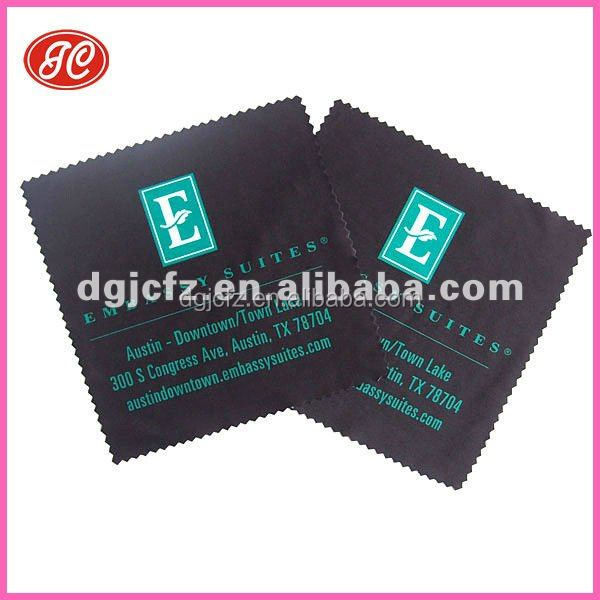 Personalized eco-friendly digital printing microfiber nylon spectacle wiping cloth
