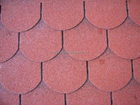 Cheap roofing asphalt shingles / tiles with various color and type