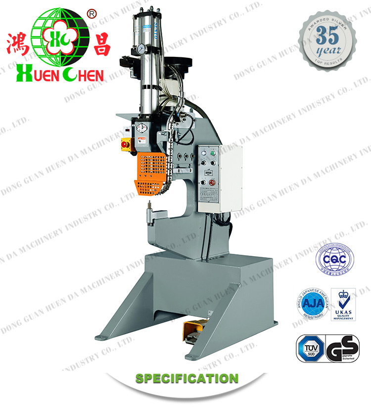 Top products hot selling fold chair four-claw nail riveting machine